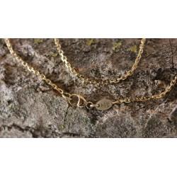 Chaine Forçat Diamantée 1mm
