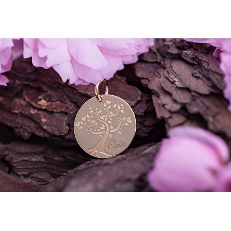 Médaille Arbre de Vie Elaïa